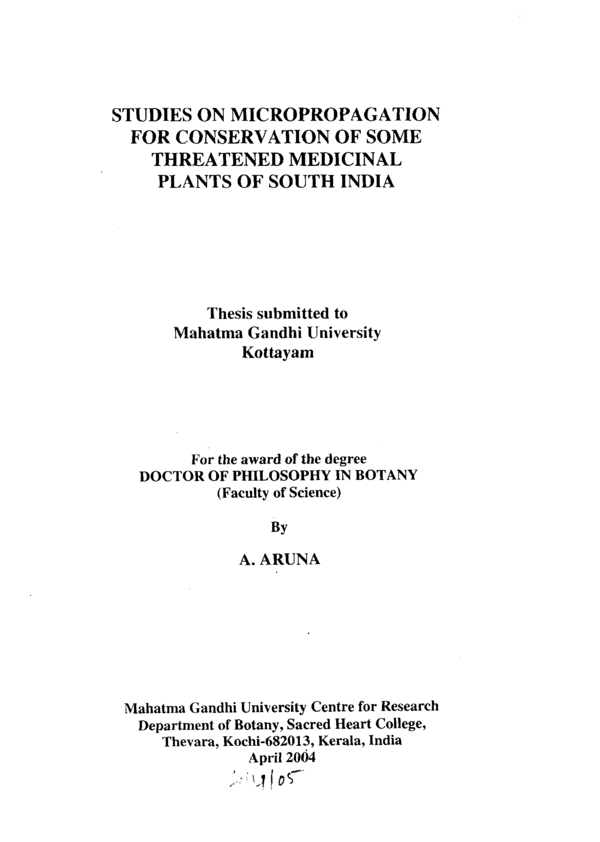 Thesis on antidiabetic activity of medicinal plants