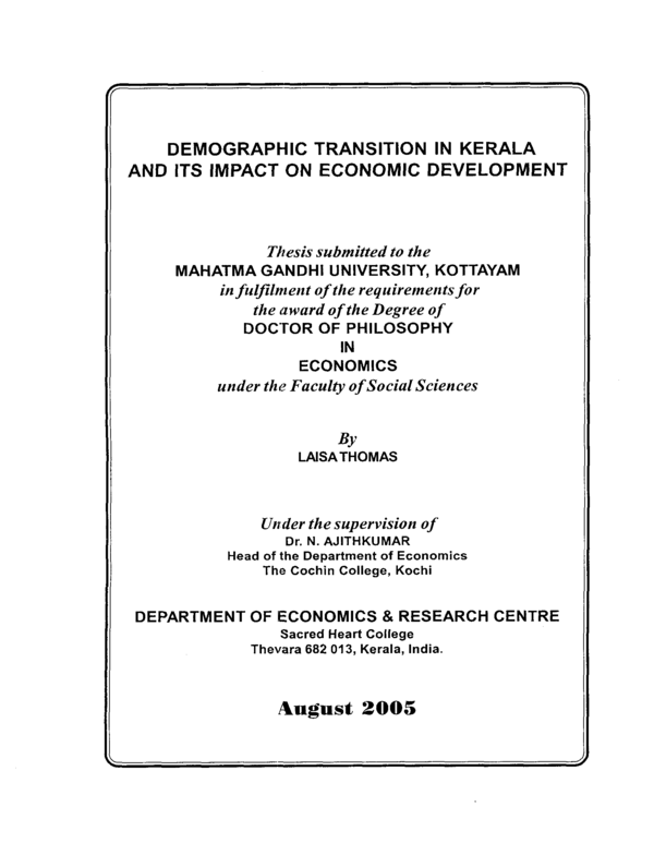 Phd dissertation writing kerala
