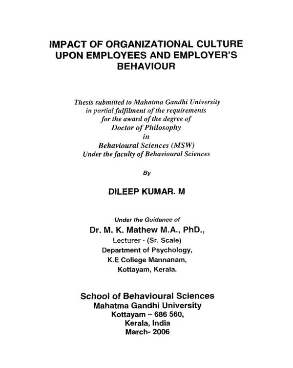 mg university phd thesis