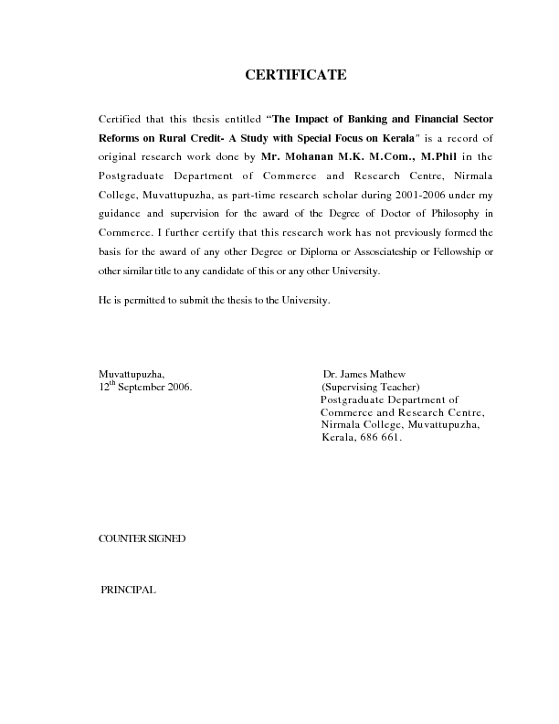 Phd thesis in banking